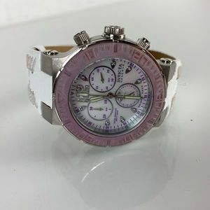 Invicta Reserve 200M leather stainless steel 10727